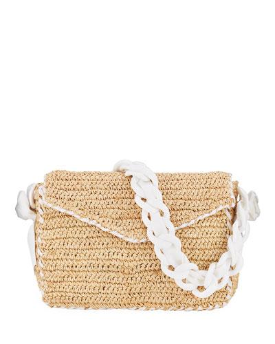 Las Olas Woven Shoulder Bag