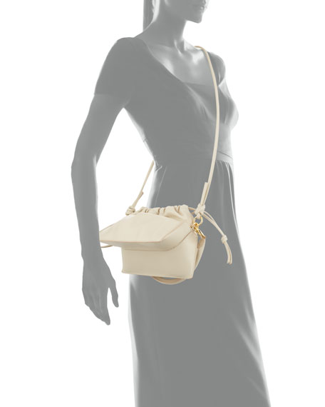 Yuzefi Bom Leather Crossbody Bag