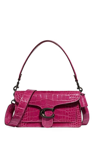Coach 1941 Crocodile Leather Shoulder Bag