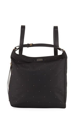 AllSaints Nilo Stud Backpack Bag