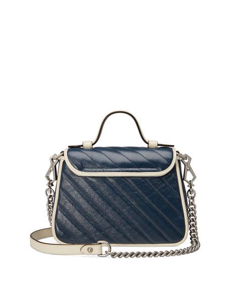 Gucci GG Marmont Mini Torchon Top-Handle Bag