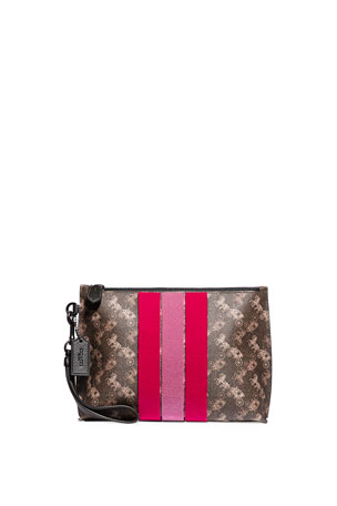 Coach 1941 Charlie Pouch Varsity Stripe Wallet