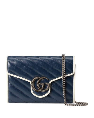 GG Marmont Torchon Wallet On Chain Mini Bag