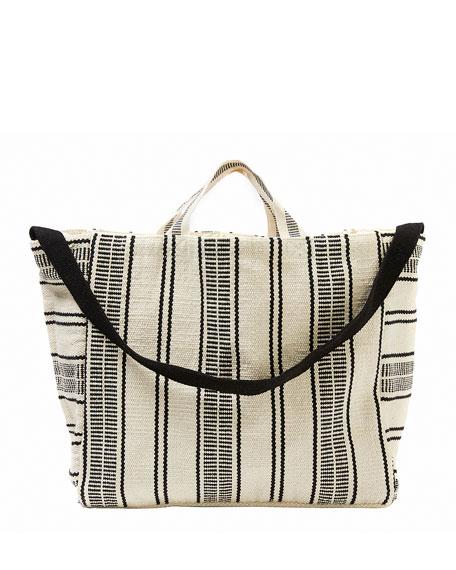 Seafolly Essential Striped Beach Tote Bag