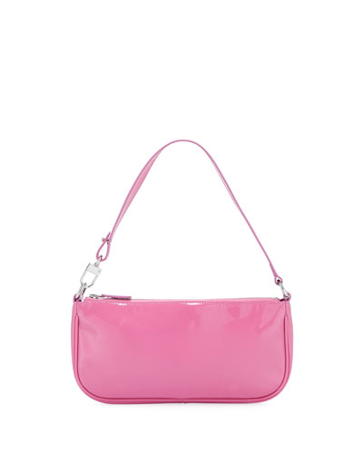 Rachel Patent Leather Shoulder Bag