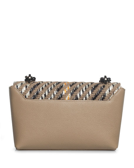 Image 3 of 5: Anouk Small Day Tweed Crossbody Bag
