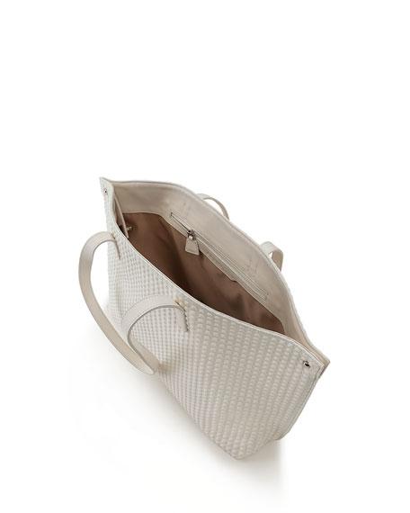 Akris AI Small Techno Trapezoid Shoulder Tote Bag