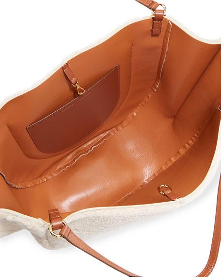 Wandler Mia Calf Leather Tote Bag