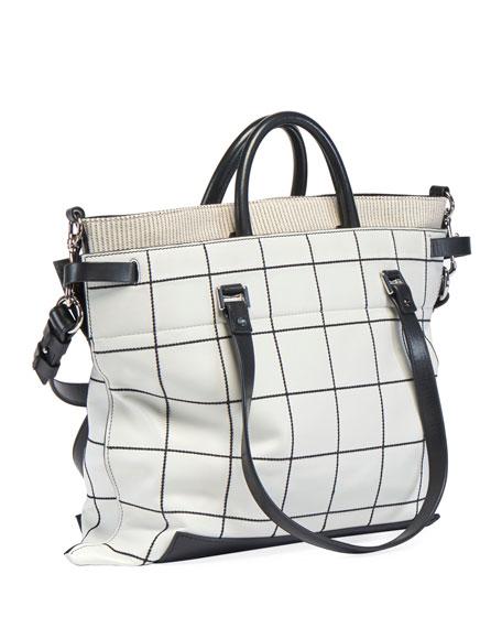 Proenza Schouler PS19 Large Plaid Crossbody Bag