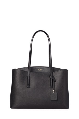 kate spade new york margaux large leather work tote bag