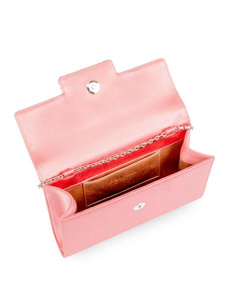 Roger Vivier Brocheamour Mini Envelope Flap Clutch Bag