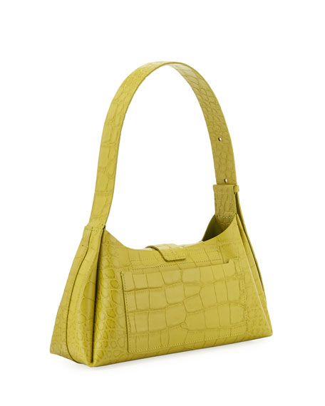 Image 3 of 4: IMAGO-A Exclusive Croco Shoulder Bag
