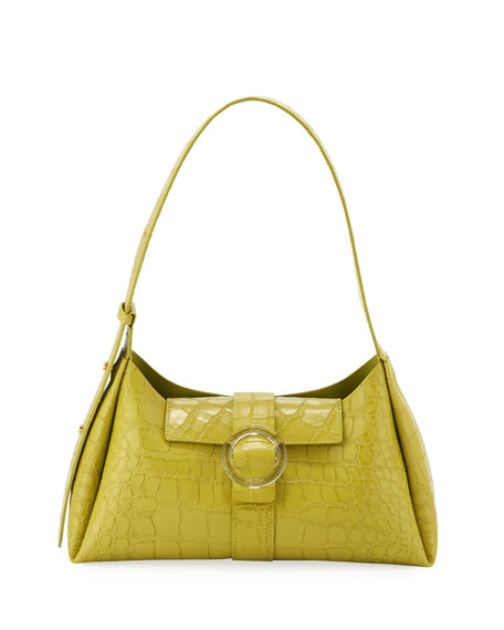 Image 1 of 4: IMAGO-A Exclusive Croco Shoulder Bag