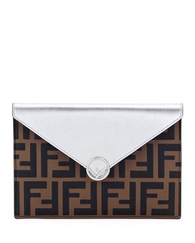 F Is Fendi Busta Calf Envelope Wallet