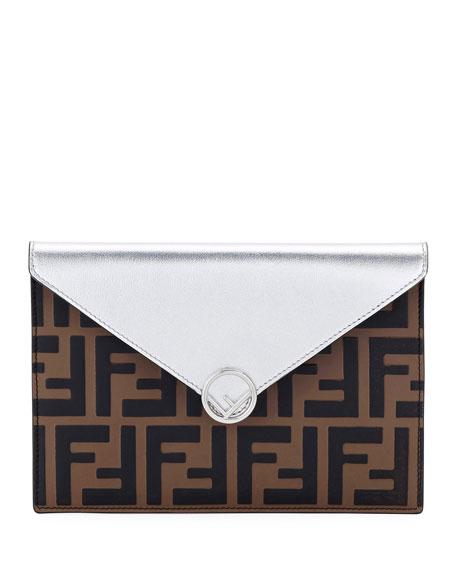 Fendi F Is Fendi Busta Calf Envelope Wallet