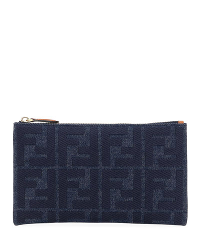 FF Jeans Reactive Embroidery Wallet