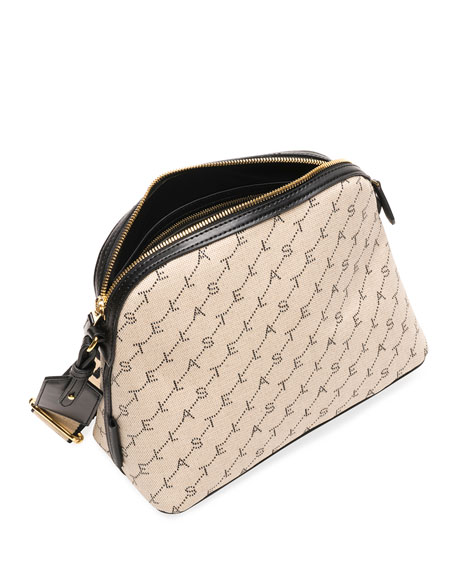 Image 2 of 3: Monogram Canvas Zip Shoulder Bag