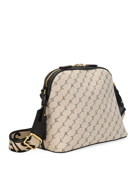 Image 3 of 3: Monogram Canvas Zip Shoulder Bag