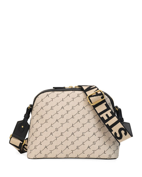Image 1 of 3: Monogram Canvas Zip Shoulder Bag