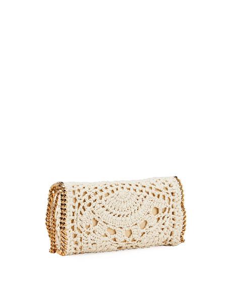 Stella McCartney Crochet Chain Crossbody Bag