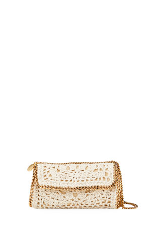 Stella McCartney Crochet Chain Crossbody Bag