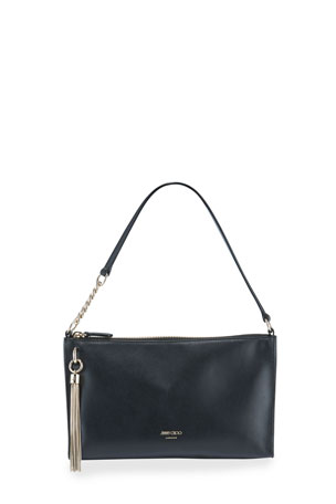 Jimmy Choo Callie Mini Leather Hobo Bag