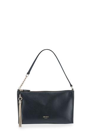 Jimmy Choo Callie Mini Leather Hobo Bag
