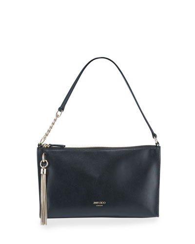 Callie Mini Leather Hobo Bag