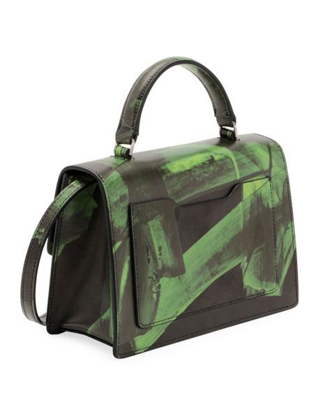 Off-White Brushstroke Jitney 2.8 Top-Handle Bag