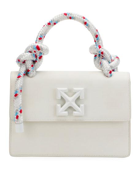 Off-White Jitney 1.4 Gummy Top-Handle Bag