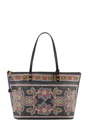 Etro Shopping Twister Tote Large Bag