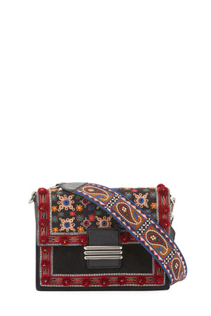 Etro Rainbow Bag With Mirrors