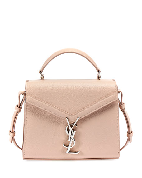 Saint Laurent Cassandre Mini Grain de Poudre Top-Handle Bag