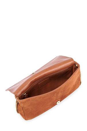 Colorful Cartoon Pizza Casual Shoulder Bag Flap With Magnetic Snap Printed Casual Shoulder Bag Saddle Shoulder Bag