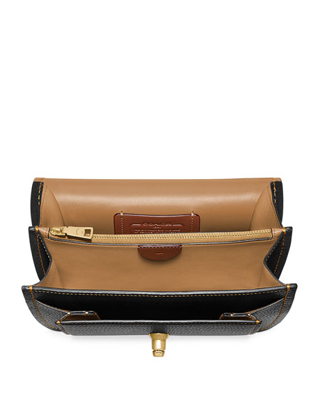 Coach 1941 Troupe Mixed Leather Crossbody Bag