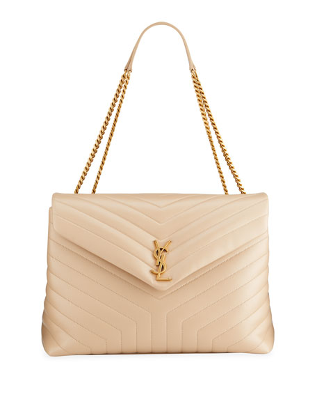 Image 1 of 2: Saint Laurent LouLou Quilted Leather YSL Bag