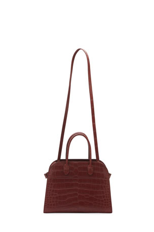 THE ROW Margaux 12 Bag in Alligator