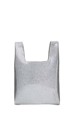 Hayward Mini Disco Metallic Shopper Tote Bag
