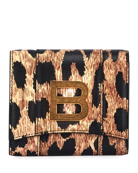 Balenciaga Hour Compact Wallet