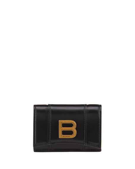 Balenciaga Hour Mini Medallion Wallet
