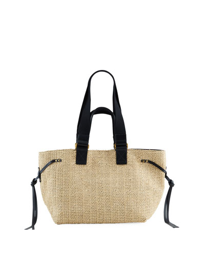 Bagya Woven Shopper Tote Bag
