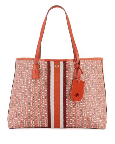 Gemini Coated Canvas Tote Bag