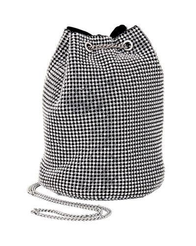Crystal Bucket Bag