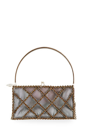 Rosantica Garofano Rectangular Top-Handle Bag