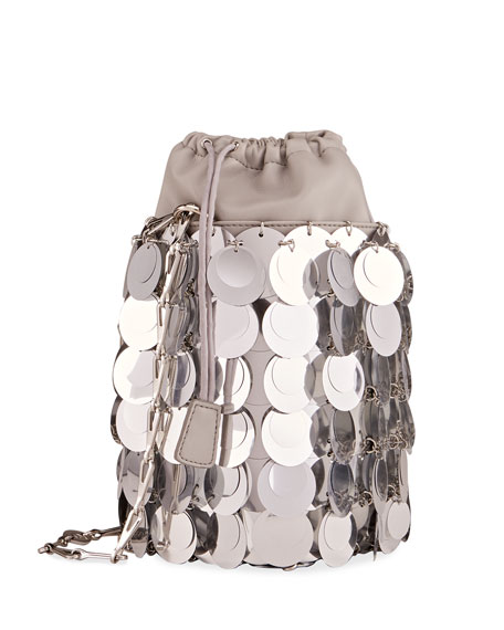 Image 3 of 4: Sparkle Sequin Bucket Bag