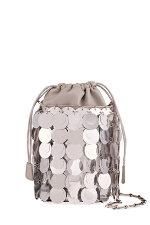 Paco Rabanne Sparkle Sequin Bucket Bag