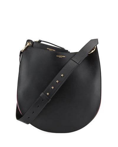 Rachele Leather Hobo Bag