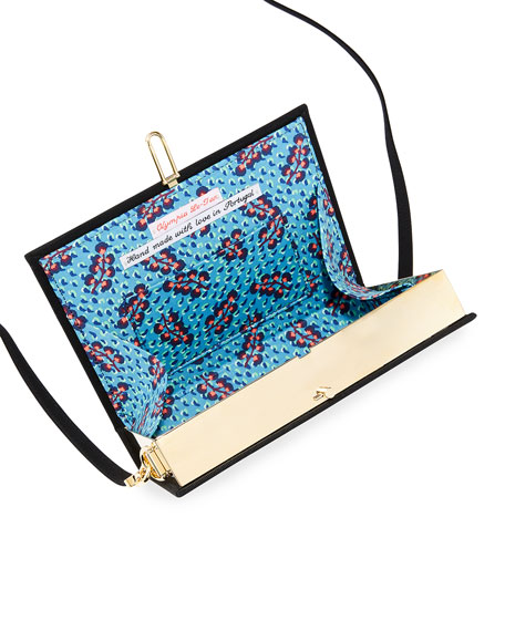 Image 2 of 4: Olympia Le-Tan Cats Book Clutch Bag