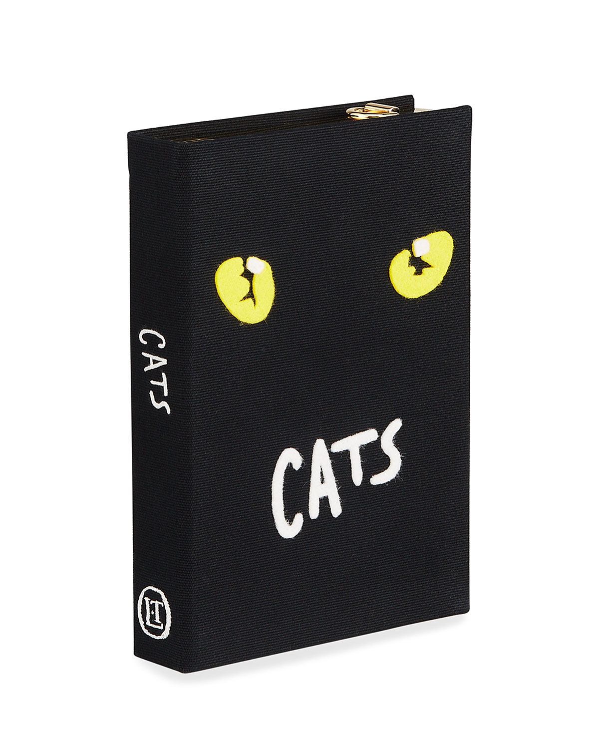 Olympia Le-Tan Cats Book Clutch Bag