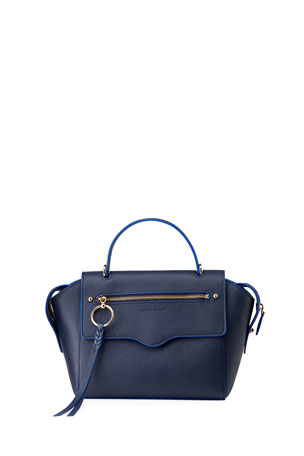 Rebecca Minkoff Gabby Leather Top Handle Satchel Bag